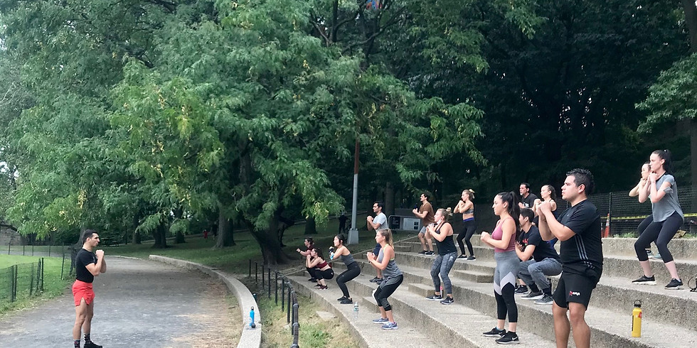 Strikes & HIIT: Outdoor Workout 9/24