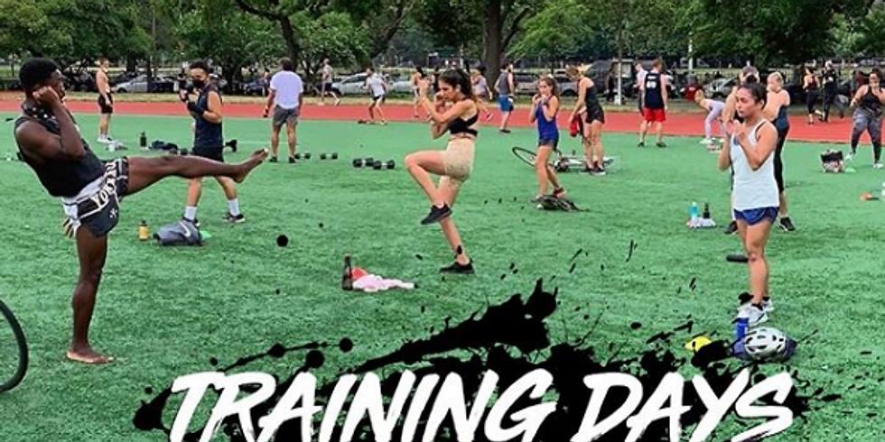 Muay Thai TRAINING DAY: HIIT, Conditioning & Pad Work 10/3