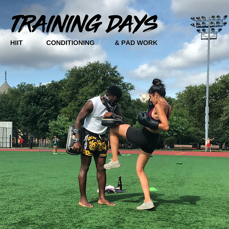 TRAINING DAY: HIIT, Conditioning & Pad Work 11/14