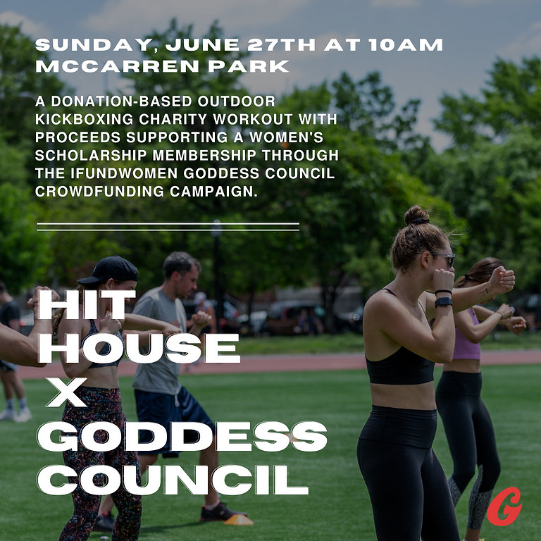 Kickboxing for a Cause: Goddess Council