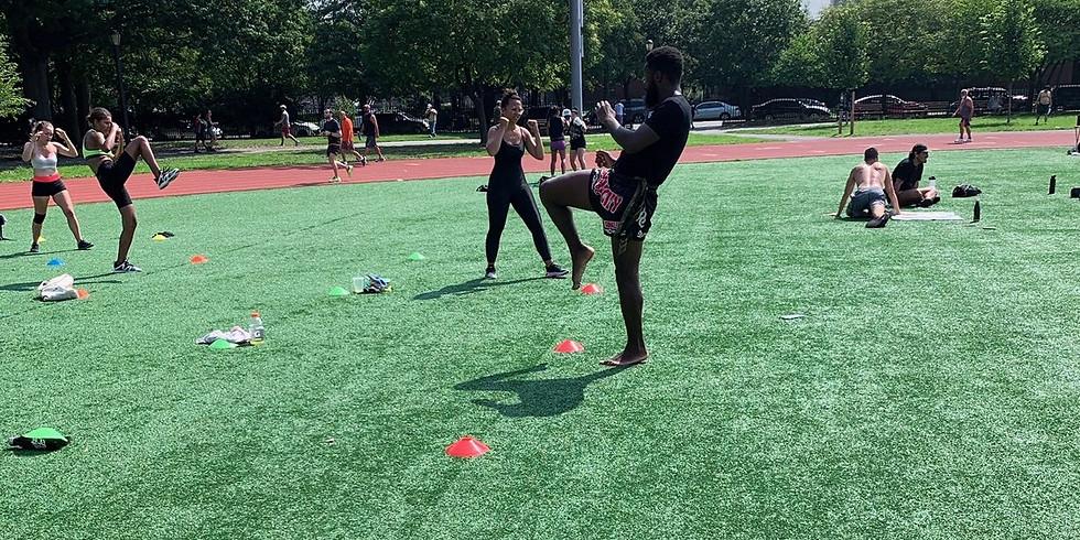 HIIT & Kickboxing Outdoor Workout (7/31)