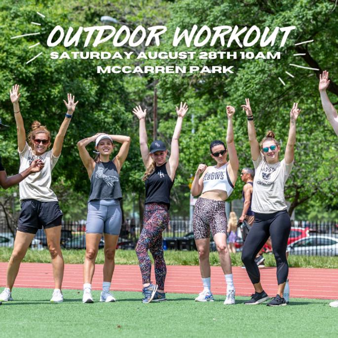 Outdoor Kickboxing & HIIT Workout
