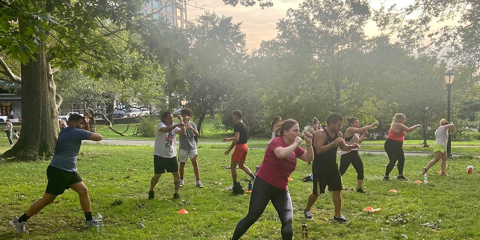 Strikes & HIIT: Outdoor Workout 9/3