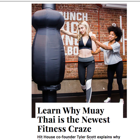 Learn Why Muay Thai is the Newest Fitness Craze