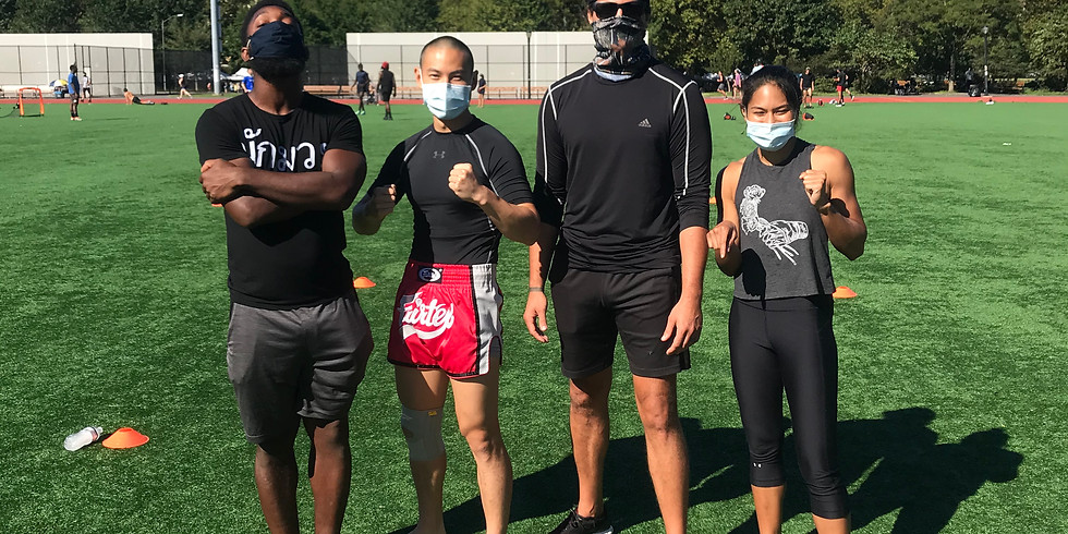 Kickboxing & HIIT with Tobias (9/19)