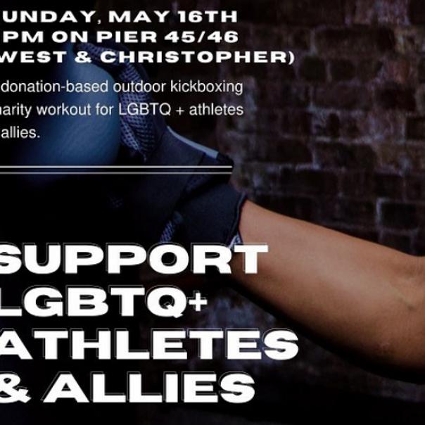 LGBT+ Athletes & Allies Workout