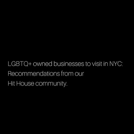 LGBTQ+ Small Businesses to Support in NYC & Brooklyn