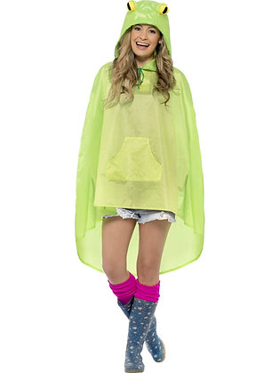 Frog Party Poncho AFD27612
