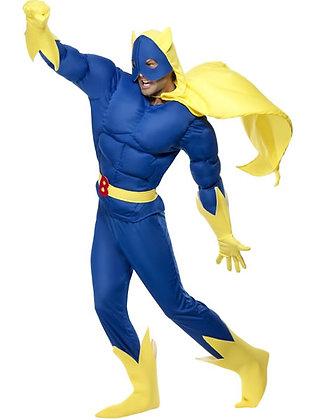 Bananaman Costume AFD28082
