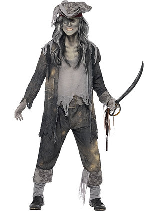 Ghost Ship Ghoul Costume AFD21331