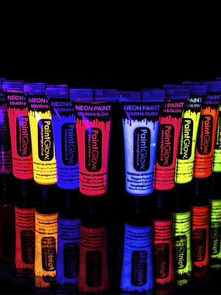 PaintGlow UV Face and Body Paint