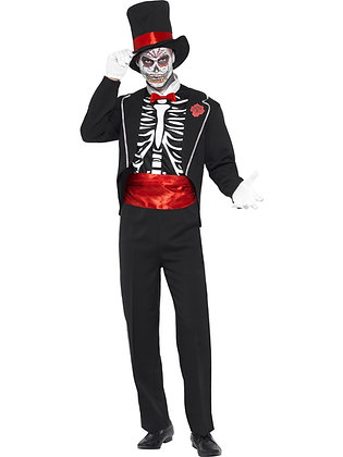 Day Of The Dead Costume AFD21565