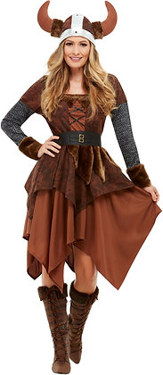 Viking Barbarian Queen Costume AFD50742