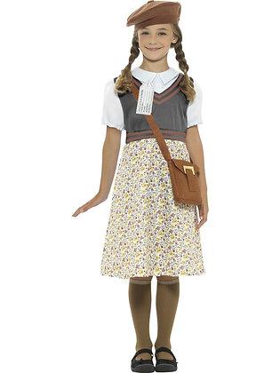Evacuee Schoolgirl Costume AFD22483