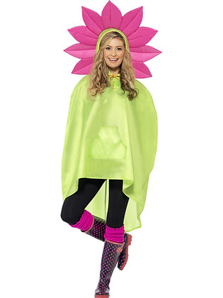 Flower Party Poncho AFD27607