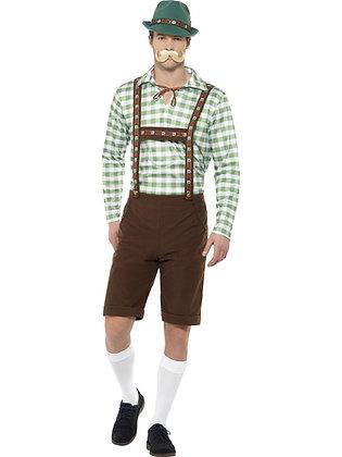Alpine Bavarian Man Costume AFD49657