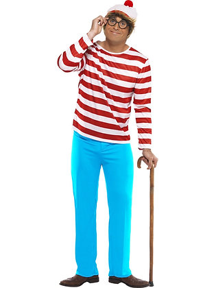 Where's Wally? Costume AFD34591