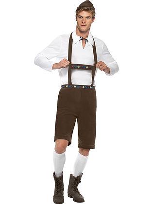 Bavarian Man Costume AFD30286