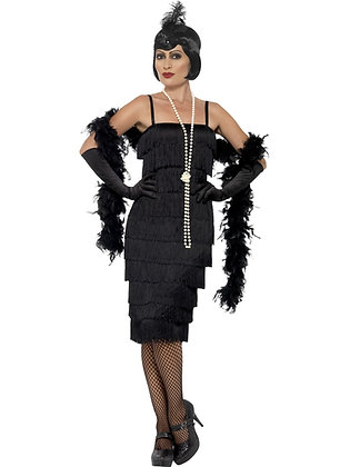 Black Flapper Costume AFD45502