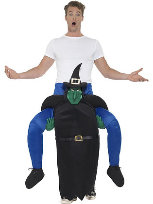 Piggy Back Witch Costume AFD47169