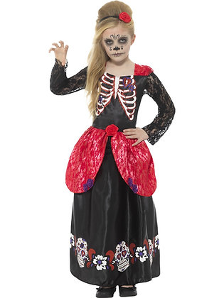 Day of the Dead Girl Costume AFD45188