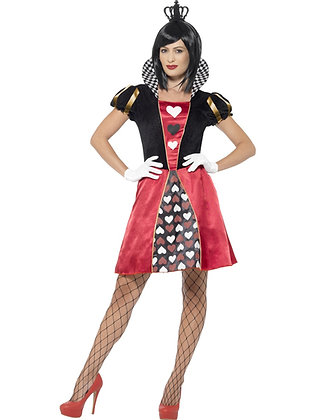 Carded Queen Costume AFD45490