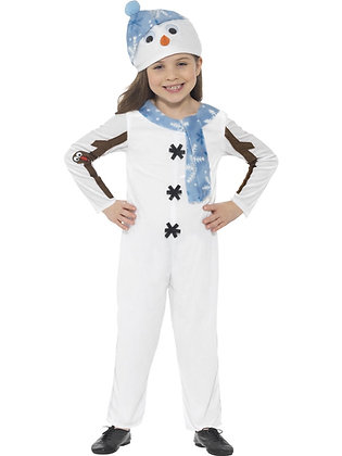 Snowman Toddler Costume AFD21480