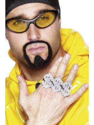 3 in 1 Dollar Rapper Ring AFD22350