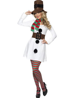 Miss Snowman Costume AFD28016