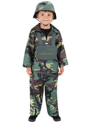 Army Boy Costume AFD38662