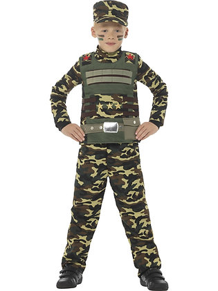 Military Boy Costume AFD48209