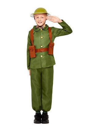 WW1 Soldier Costume AFD47744