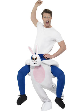 Piggy Back Rabbit Costume AFD24653