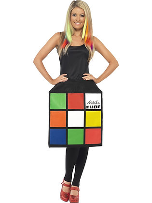 Rubik's cube Costume AFD39170
