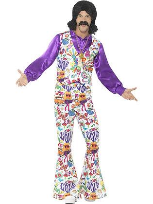 60s Groovy Hippie Costume AFD44904