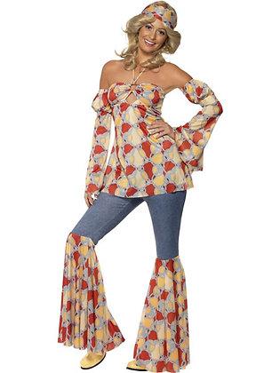 Vintage Hippy Lady AFD39434