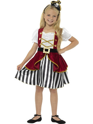 Deluxe Pirate Girl Costume AFD44404