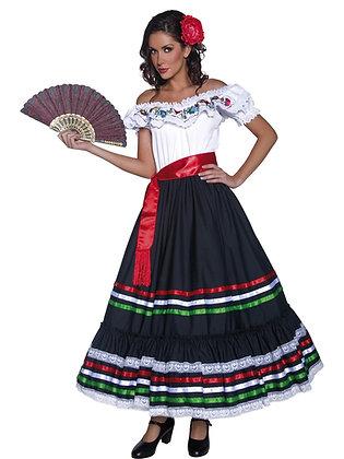 Western Senorita Costume AFD34449