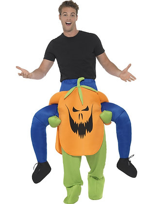 Piggy Back Pumpkin Costume AFD47166