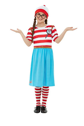 Where's Wenda? Girl Costume AFD50280