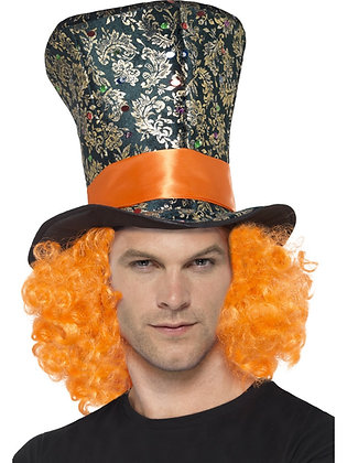 Mad Hatter Hat and Wig AFD45216