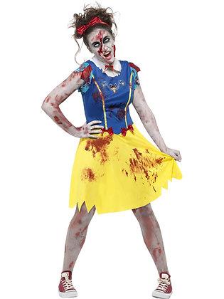 Zombie Snow White Costume AFD45613