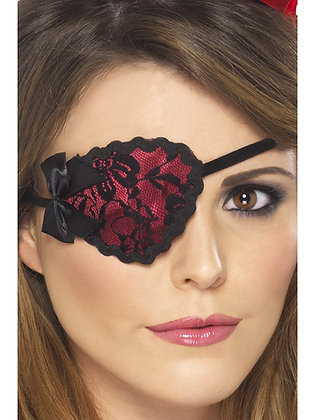 Red Pirate Eye Patch AFD20805