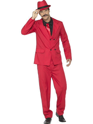 Gangster Zoot Suit, Red AFD44891