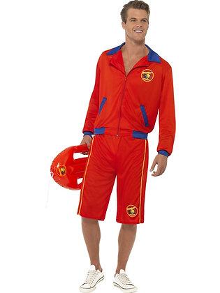 Baywatch Beach Lifeguard Costume AFD32893