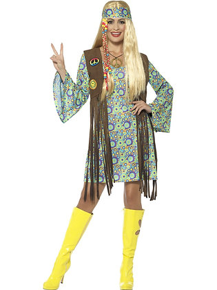 60s Hippie Chick Costume AFD43127