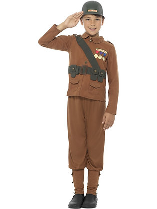 Horrible Histories Soldier Costume AFD42996