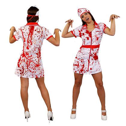 Bloody Nurse Costume AFD4411