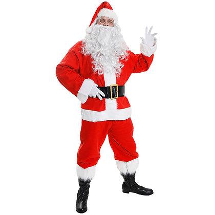 Santa 10 piece Costume AFD4554