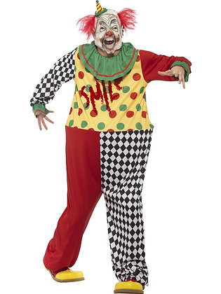 Sinister Clown Costume AFD45200